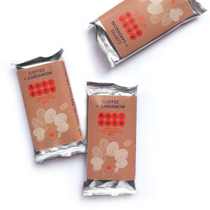 Box of 36 MINI bars: Coffee + Cardamom 73%