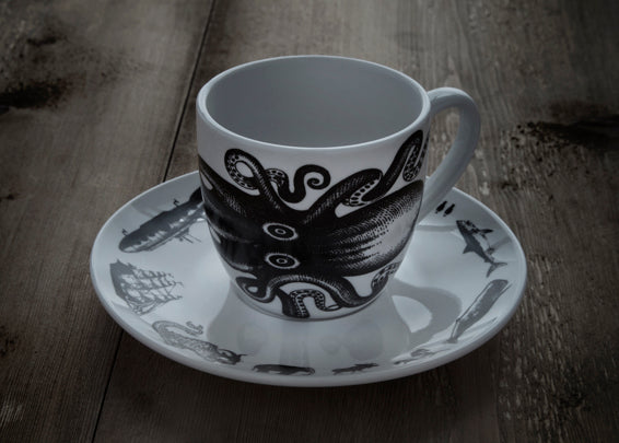 Cup and Saucer (Set of Four)