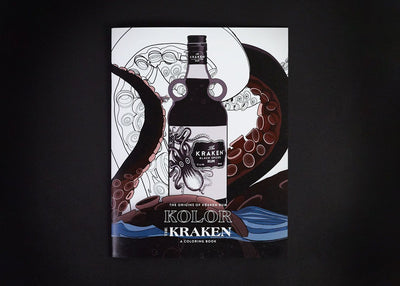 Kraken Coloring Book