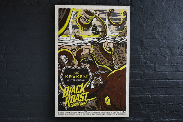 LIMITED EDITION: THE KRAKEN BLACK ROAST PRINT