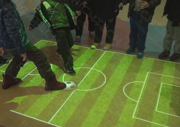 The Interactive Floor System is Molding Children's Minds