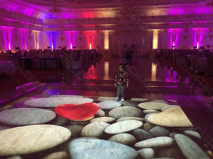 How the Interactive Floor System Can Achieve the Perfect Wedding