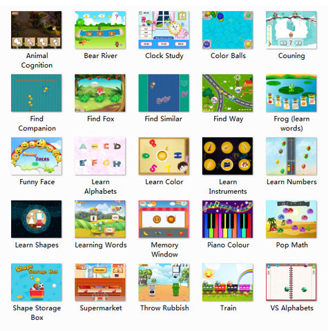 Interactive Education Games