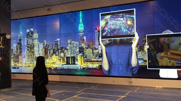 Richtech made biggest LCD wall in Doha