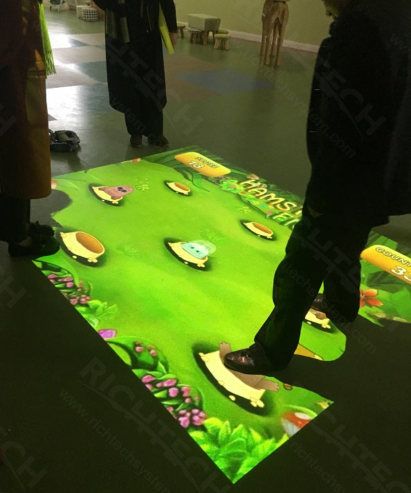 Richtech interactive floor for children playground