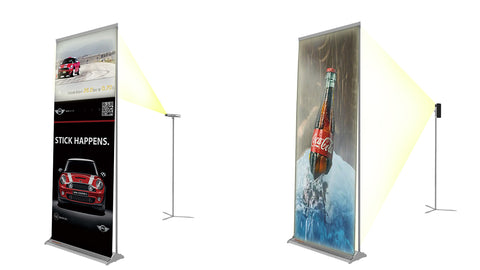 Roll Up Projection Banner