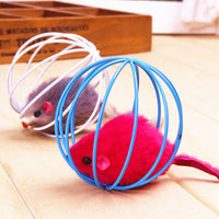 1 PC Cat Toys Pet Supplies Rat In A Cage To Make