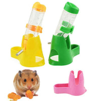 3 IN 1 Plastic Pet Hamster Water Bottle Feeder