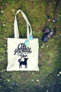 All You Need is Dogs Tote Bag | Shopping Bag |
