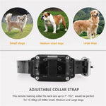 2018 Newest Remote Dog Training Collar Rechargeable and Rainproof 800M LCD Electric Pet Dog Shock Collar with Beep Vibration and