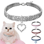 Cute Crystal Pet Collar Dog accessories Pet Necklace Cat Collar Necklace Dog necklace Pet accessories puppy collar