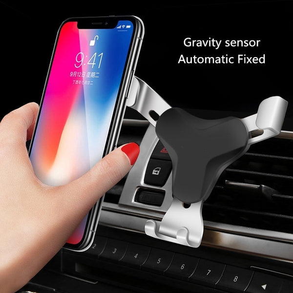 4 Colors Gravity Bracket Car Phone Holder Flexible Universal Car Gravity Holder Support Mobile Phone Stand for Cell Phone