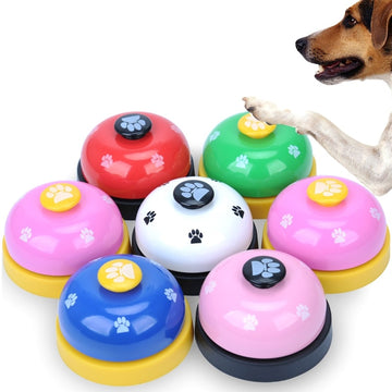 Call Bell Pet Dog Toys Feeding Ringer Educational Interactive Cat Stuff