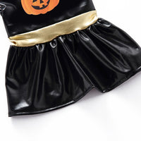 Halloween Pumpkin Dresses Costume for Dog Cat Pet