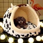 Warm Puppy House For Small Dog Cat Sleeping Soft