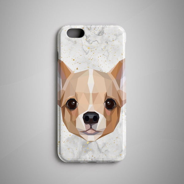 Geometric Chihuahua iPhone 8 Case iPhone 8 Plus