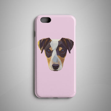 Geometric Jack Russell Terrier iPhone 8 Case