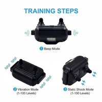 800M Waterproof Rechargeable Remote Control Dog Electric Training Collar