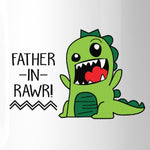 Father-In-Rawr 11oz Ceramic Coffee Mug Funny Gift