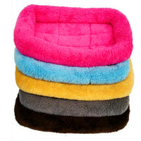 Anti-slip cashmere soft ped dog mat kennel nest cat pet cushions dog bed autumn and winter warm cotton blanket house pet supply