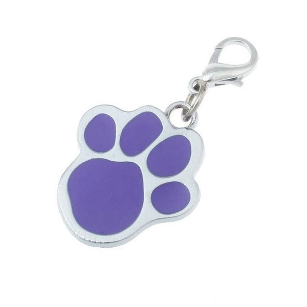 Pet Accessories Popular Footprints Puppy Rhinestone Pendant Lovely Pet Jewelry Free Shipping - Fashion - Molly Brands - Molly Brands