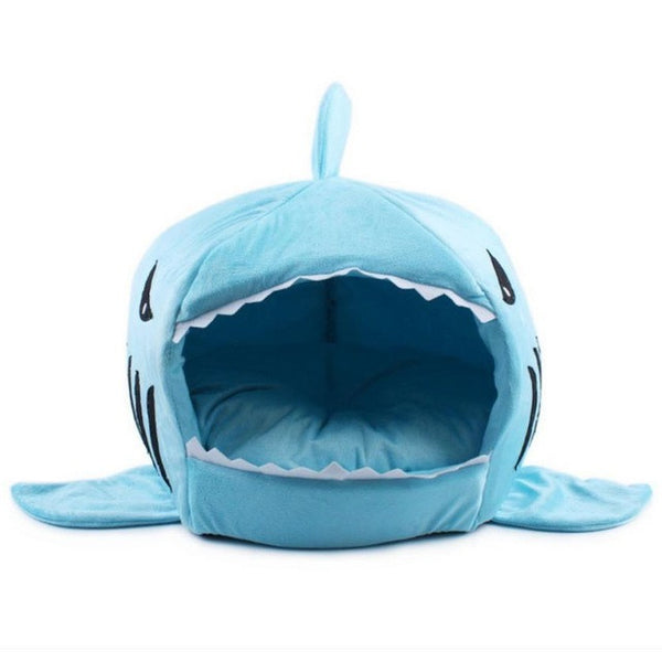 Shark form collapsible Indoor Pet House - Bedding - Molly Brands - Molly Brands