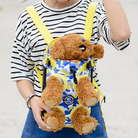 Pet Puppy Dog Carrier Backpack Camouflage Colorful Dogs Legs Out Front Carrier Bag Pet Products For Dog - Walking - Molly Brands - Molly Brands