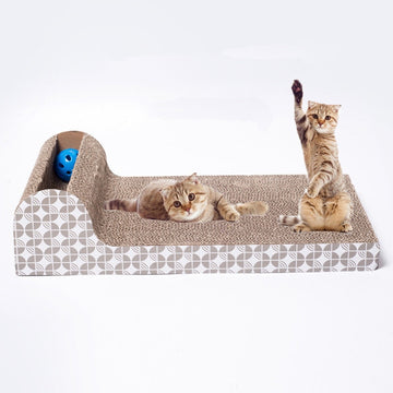 Cat Kitten Corrugated cat Scratch Board Pad Scratcher Bed Mat Claws Care Interactive Toy For Pet Training Cat toys