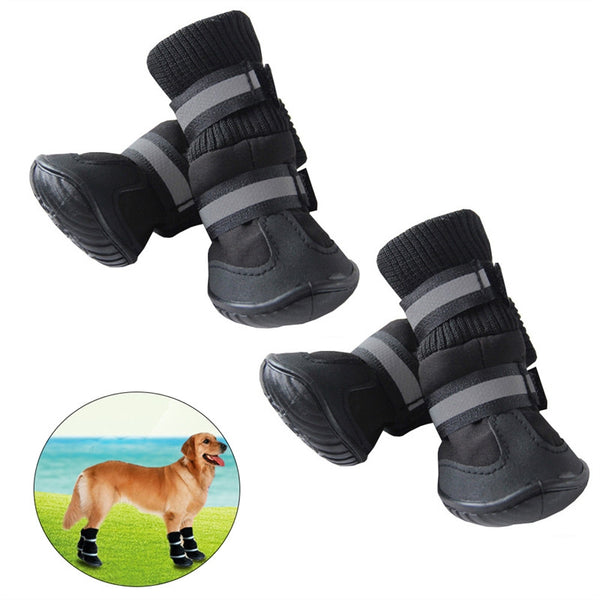 Anti Slip Pet Snow Boots Protective Shoes Dog Rain Booties - Fashion - Molly Brands - Molly Brands