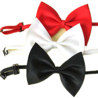 Set of 3 Adjustable Dog Bow Tie Pet Collar Perfect for Wedding Tie, Random Color -  - Molly Brands - Molly Brands