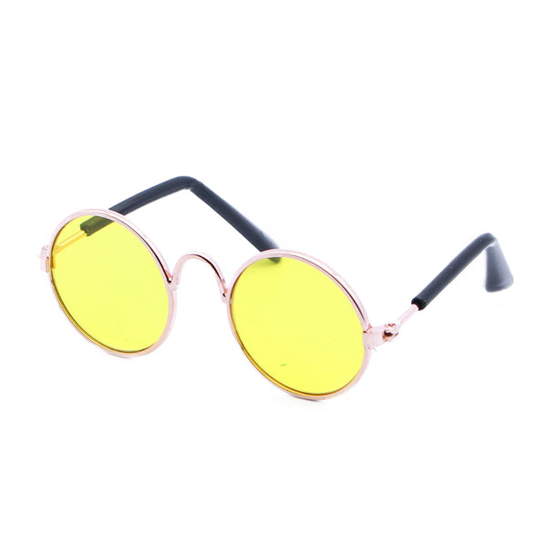Fashion Glasses Small Pet Dogs Cat Glasses Sunglasses Eyewear Pet Cool Glasses Pet Photos Props