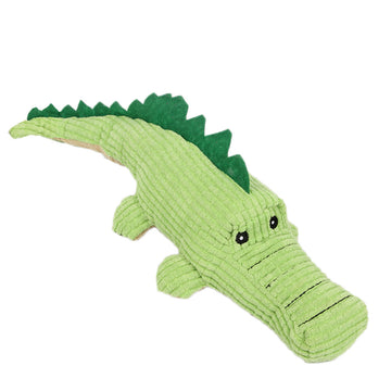 Dog Chew Toy Sound Plush Pet Puppy Toys Squeaky Crocodile Toys Soft Pets Bite Chewing Puppy Dog Toy