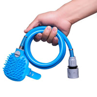 Pet bathing tool is a pet dog convenient clean water pipe spray nozzle strap - Grooming - Molly Brands - Molly Brands