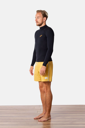 Rhythm Retro Classic Back Zip Wetsuit Top