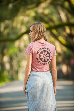 WSMS Ladies Logo Tee