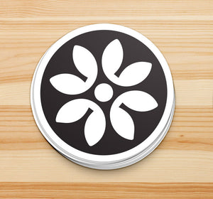 Icon Circle Sticker