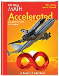Big Ideas Math Accelerated: Student Edition Red 2014