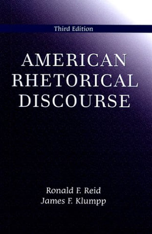 American Rhetorical Discourse, Third Edition