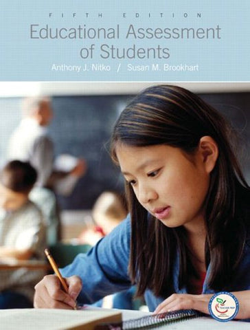 Educational Assessment Of Students (5Th Edition)