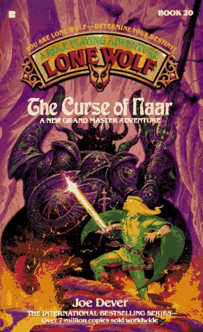 Lone Wolf #20:  Curse Of The Naar (Lone Wolf/Joe Dever)