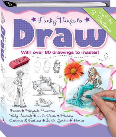 Funky Things To Draw (Binder)
