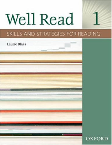 Well Read 1 Student Book: Skills And Strategies For Reading