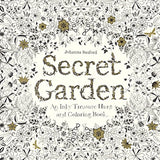 Secret Garden: An Inky Treasure Hunt And Coloring Book (Turtleback School & Library Binding Edition)