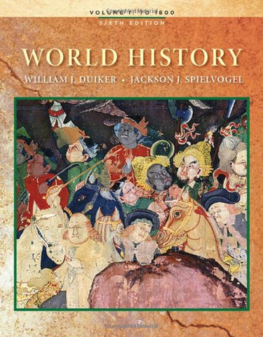 1: World History, Volume I
