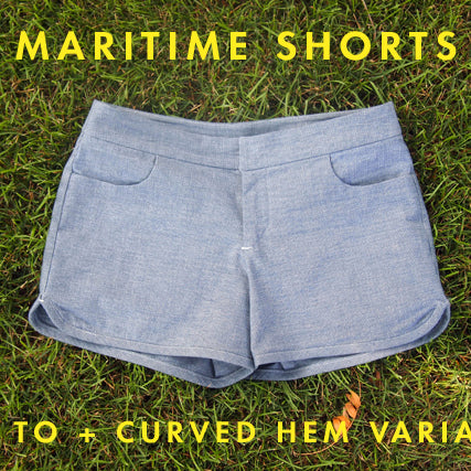 Sewing Tutorial | Maritime Shorts + A Variation