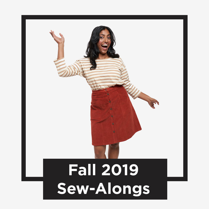 Get Ready for our Fall Collection Sew-Alongs
