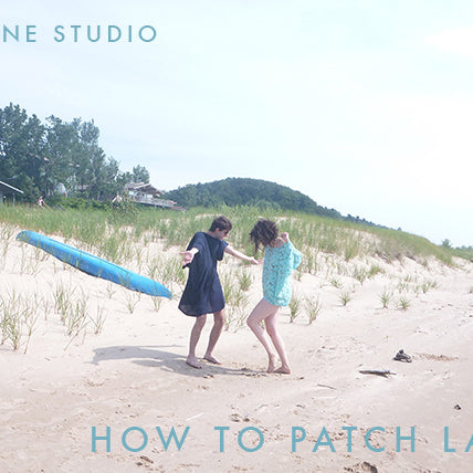 Sewing Tutorials | Patching Lace