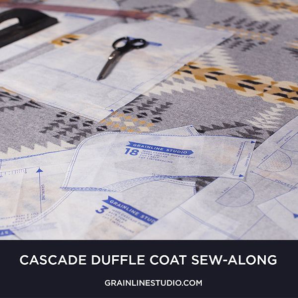 Cascade Sew-Along: Cutting & Prepping Your Pieces
