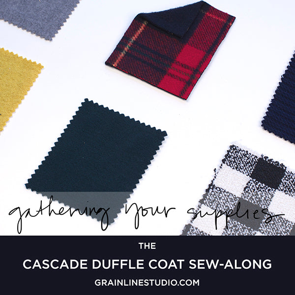 Cascade Sew-Along: Gathering Your Supplies