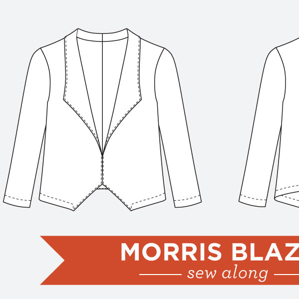 Morris Blazer Sew Along Announcement